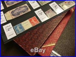 FIN DANNÉE LOT 32 collection timbres France PA n°15 x2 mersons variétés