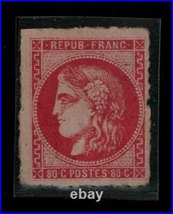 FRANCE 1870 CERES 49m SUPERBE dit de Marennes signé avec variétés