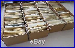FRANCE 1876-1976 STOCK OBLITERE SOIGNE ENORME est 30.000 timbres °/bk669