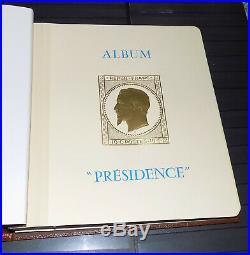 FRANCE ANNEES COMPLETES 1940/1949 Neufs Luxe dans ALBUM PRESIDENCE Cérès