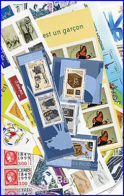 FRANCE, LOT FACIALE 200 EURO pour 140 EURO, timbres neufs, PORT OFFERT