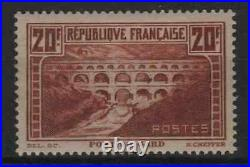 FRANCE STAMP TIMBRE 262 PONT GARD 20F CHAUDRON TYPE IIB NEUFxx TB A VOIR R229