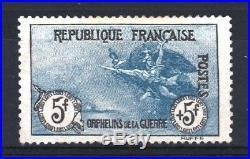 FRANCE STAMP TIMBRE YVERT 155 ORPHELINS LA MARSEILLAISE 5F+5F NEUF x TB T072