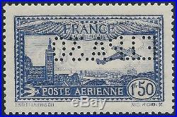 FRANCE TIMBRE NEUF Poste Aérienne N° 6c Perforé 1930
