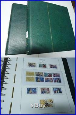 FRANKREICH 1960/1999 Sammlung im Leuchtturm Vordruck postfrisch komplett