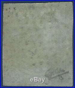 France 1849 1850 Céres n°2c, 15 c vert nuance fonçée 2e choix quasi 1er choix
