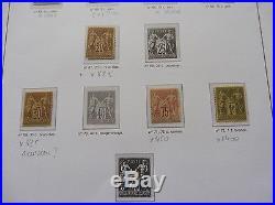 £££ France Collection timbres Classiques Napoléon Cérès sage Cote +30 000