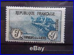 France N° 155 Orphelin Neuf Gomme Sans Charniere Ni Trace