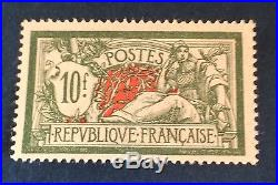France N° 207 10f Vert Neuf TB Centrage Et Qualité Côté 340 + Centrage