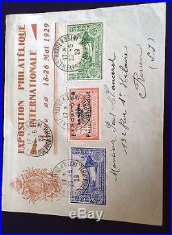 France N° 257a Exposition Du Havre 1929 Signe Calves T T B Côté 875 + Centrage