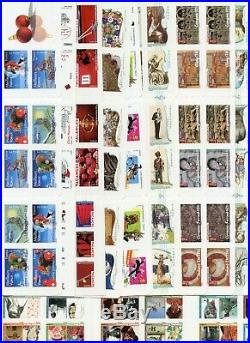 France Neuf Lot 20 Carnets De Timbres Autoadhesifs Faciales 252