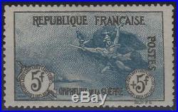 France Stamp Timbre N° 155 Orphelins La Marseillaise 5f+5f Neuf Ttb K981
