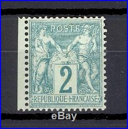 France Yvert 62 (N/B), neuf sans charnière! RARE! Cote 1.800 euro's