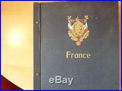 France collection 1862-1975, dans un album Davo. Très intéressant