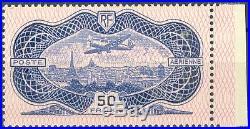 France, timbre Poste Aérienne N° 15 neuf, TB, signé Calves