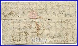 Frankreich Ballon Monte Brief Paris London Großbritannien 1870