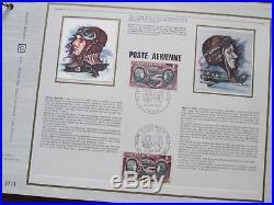 Gros Carton Albums Feuillets Philatelique