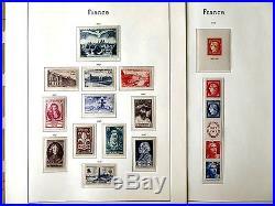Gut Bestückte Sammlung Frankreich 1945 1975 Postfrisch + wenige