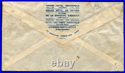 INDOCHINE Liaison HANOI-PARIS/AVIONS CODOS ROBIDA/Janvier 1932 Affrt composé