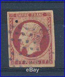 L0750 TIMBRE DE FRANCE N° 18 Oblitéré Bien Margé