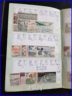 LOT #282 COLONIES FRANÇAISES DOM-TOM collection timbres carnets à choix nbrx