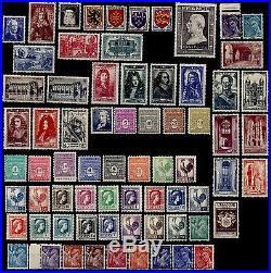 Les ANNÉES 40 Complètes, Neufs = Cote 1.129 / Lot Timbres France 451 à 862