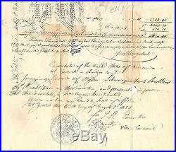 Lettre France Frankreich 1854 N°13 Et 16 Oblitere Used Zurich To New York