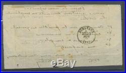 Lettre ballon monté départ 14 novembre 1870, arrivée 25 Le Général ULRICH H2282