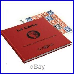 Livre La Cérès Histoire du premier timbre-poste, Salon 2019 tirage limitée
