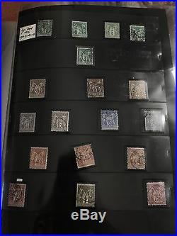 Lot/Collection timbres classiques dt n°1,2,5,6,16,17A, 33, bordeaux tous états