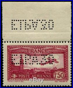 Lot N°3124a France Poste Aérienne N°6d Neuf LUXE