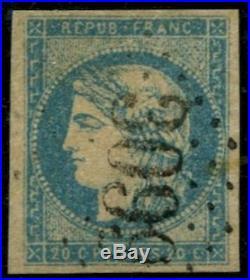 Lot N°419b France N°44A Oblitéré Qualité TB