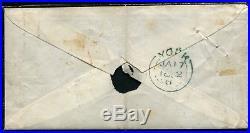 Lot N°8151 FRANCE Paire de 4 RETOUCHES Obl grille sur enveloppe RARISSIME