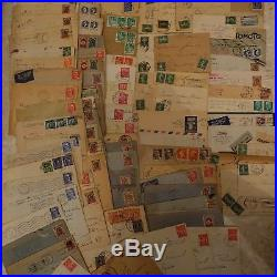 Lot Vrac Stock De Lettre Cover France Algérie Allemagne Italie. Prix Cadeau