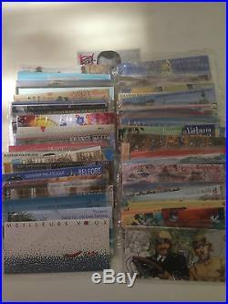 Lot de 100 blocs souvenirs dont Rouge Gorge et Gordon Bennett neuf sous blister