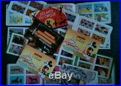 Lot de 10 carnets timbres prioritaires, 120 timbres, validité permanente