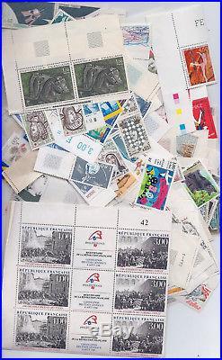 Lot de 500 euros de timbres Français neuf en Francs. Faciale à -35% avec facture