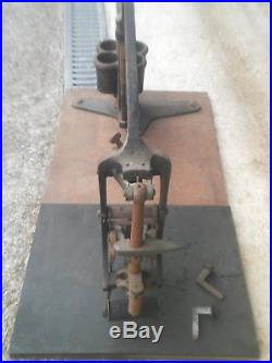 Machine oblitérer DAGUIN marque postale poste PTT facteur postier