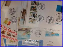 Mayotte énorme lot de 1100 cartes et enveloppes 1er jour jamais vu à la vente