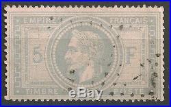NAPOLÉON N°33, oblitération légère et effigie dégagée, signé CALVES