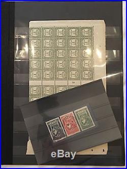Énorme Carton Rempli De Collection De Timbres