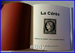 NOUVEAUTE 2019 LIVRE LA CÉRÈS Histoire du premier timbre-poste français