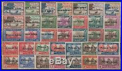 NOUVELLE CALEDONIE YVERT 195/229 SERIE FRANCE LIBRE 1941 NEUFS xx/x TTB P008