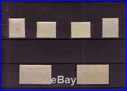 N°148 à 151, 154&155 série complète petits formats, 1F&5F+5F Orphelins, neufs