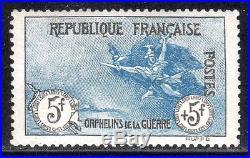 N° 155 Neuf LUXE signé BRUN COTE= 6875 euros