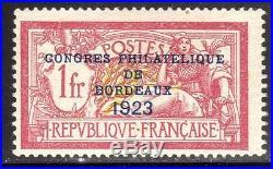 N° 182 Neuf LUXE signé BRUN COTE= 925 euros