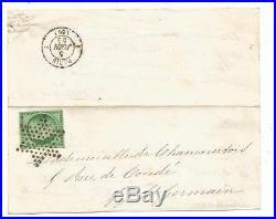N° 2 Ttb Etoile Muette Devant Lettre Avec Un Rabat 5 Juin 1853 Cote +1000