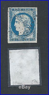 N°44a Ttb / Sup Signe Brun Timbre Stamp France