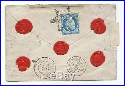 N°57 X5 60x2 Paris 2 Etoile 2 Descripptif Chargement Pothion 1745 Ind 18 Lettre