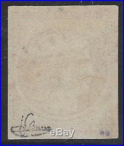 N°6 Cérès timbre classique 1fr Carmin oblitéré qualité TB Signé Jf. Brun